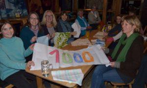 1000 Brezenbeutel für den Landkreis - Das Team der Freibeutler